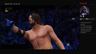 WWE 2K17 - AJ Styles vs. Jake Roberts '96 (Survivor Series )