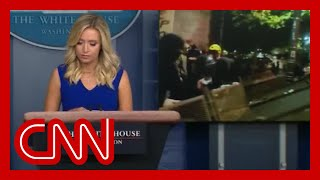 See why Fox News cut away from White House briefing