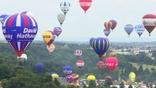 Europe's Largest Balloon Festival Takes Flight -Exclusive ..