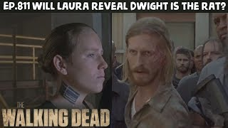 TWD Season 8 Episode 9 - Will Negan Find Out Dwight is the Rat?