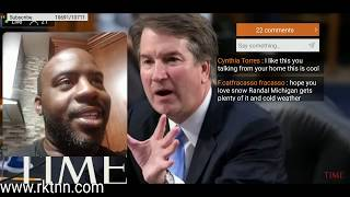 Brett Kavanaugh  ALLIGATION SCANDAL FROM HIGH SCHOOL PARTY REAL NEWS OR FAKE NEWS