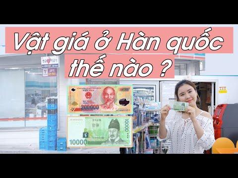 Vật giá ở Hàn quốc thế nào ?