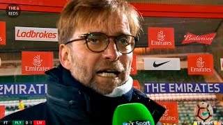 Plymouth 0:1 Liverpool - Jurgen Klopp post-match reaction