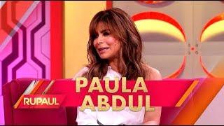 Paula Abdul and Adam Rippon Stop by 'RuPaul'