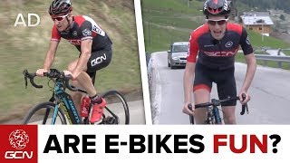 Are E-Bikes Fun? Road Bike Vs Road E-Bike