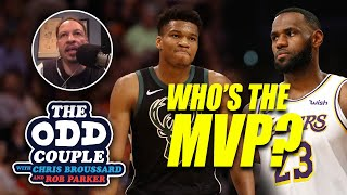 Chris Broussard & Rob Parker - LeBron James Makes His Own Case to be the NBA's MVP