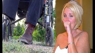 Mulher se casa com deficiente, mas no dia do casamento ele faz uma grande surpresa.