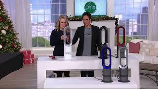 Dyson AM09 Hot & Cool Bladeless Fan & Heater with Jet Focus on QVC