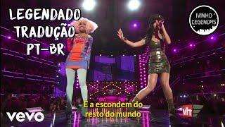 Katy Perry & Nicki Minaj - Girls Just Want To Have Fun [Live] (Legendado/Tradução) (PT-BR)
