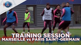 TRAINING SESSION - MARSEILLE vs PARIS SAINT-GERMAIN