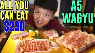 FINEST All You Can Eat WAGYU BEEF in Tokyo Japan: Matsusaka Beef