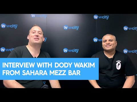 Dody Wakim Interview from Sahara Mezz Bar, Hong Kong