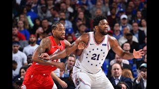 Joel Embiid Met Kawhi Leonard At The Rim With Nasty Rejection In Game 6