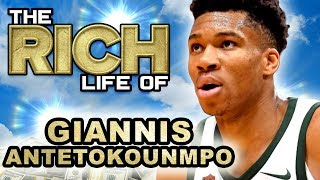 Giannis Antetokounmpo | The Rich Life Forbes Net Worth 2019 ( Cars, Mansion, Nike & more )