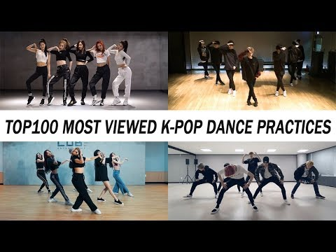 [TOP 100] MOST VIEWED K-POP DANCE PRACTICES • March 2019