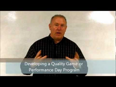 Developing a Quality Game or Performance Day Program for Your High School Athletics or Arts Activity