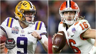 Who is under more pressure, LSU or Clemson? | College Football on ESPN
