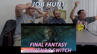 Reaction: Final Fantasy on Nintendo Switch (All Reveals) (Nintendo Direct)