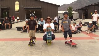 9 YEAR OLD GAME OF SKATE