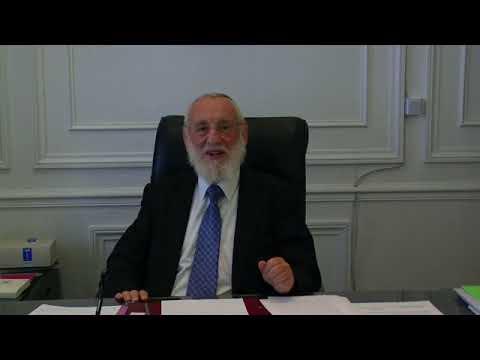 Grand Rabbin de Paris Michel Gugenheim