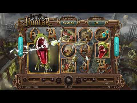 London Hunter, la nuova slot online di Habanero