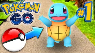 Pokemon GO Episode #1 - CATCHING POKEMON!