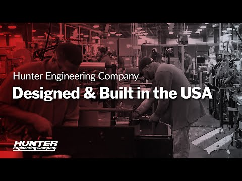 Hunter Engineering - Equipment Made In The USA Commercial