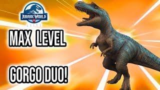 EPIC STRIKE LEAK! LEVEL 30 GORGOSAURUS AND GORGOSUCHUS DUO! | Jurassic World Alive
