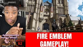 ETIKA REACTS TO FIRE EMBLEM THE THREE HOUSES! [ETIKA STREAM HIGHLIGHTS]