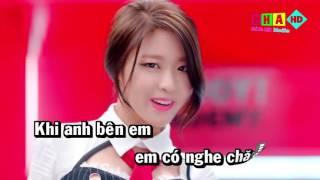 [Karaoke HD] You're my heat you're my soul (lời việt)