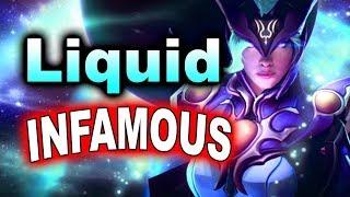 Liquid vs INFAMOUS - Impressive Game - SL i-League 4 Minor DOTA 2