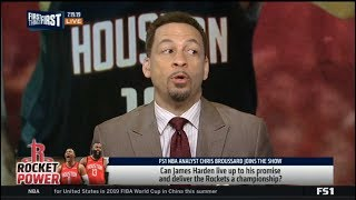 FIRST THINGS FIRST   Chris Broussard ANALYSIS Harden:
