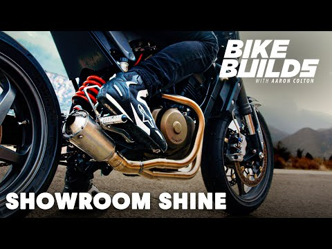 How To Treat and Restore Raw Metal For A Showroom Shine - Bike Builds with Aaron Colton