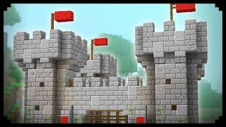 ✔ Minecraft: How to make a Castle