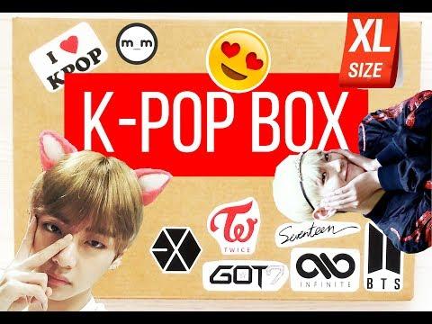 СЛАБОНЕРВНЫМ НЕ СМОТРЕТЬ! K-POP Box распаковка и обзор\ Review and unboxing