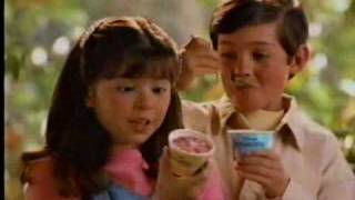 1995 Nestle Cool Creations Pocahontas Ice Cream Cups Commercial
