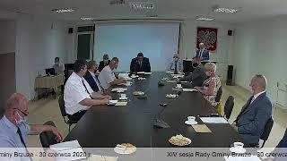 XIV sesja Rady Gminy Brzuze