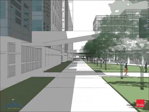 3D Animation of Seminole State College Altamonte Master Plan by HuntonBrady Architects