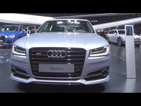 Audi S8 Plus 4.0 TFSI Quattro Tiptronic 445 kW (2016) Exterior and Interior in 3D