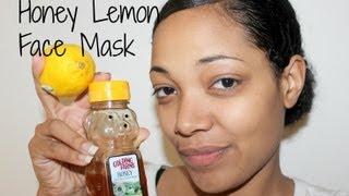 DIY: Honey Lemon Face Mask