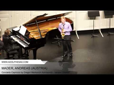 Dinant 2014 - Mader, Andreas - Concerto Capriccio by Gregori Markovich Kalinkovich
