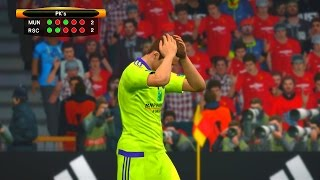 Manchester United vs Anderlecht 2nd Leg - PES 2017 Penalty Shootout