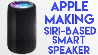 Apple Siri Speaker coming at WWDC17?