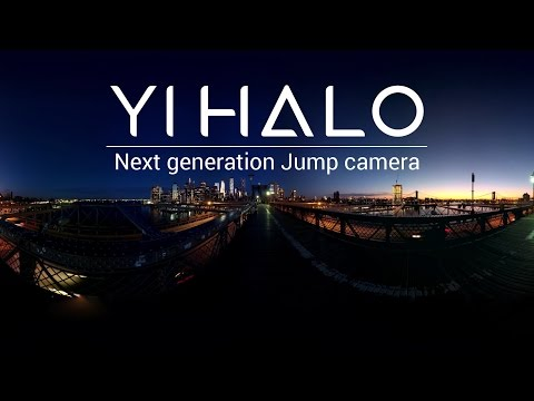 Introducing YI HALO - the next generation Jump camera @GoogleVR