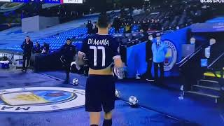 "Jim Beglin ""Latino Temperament"" comment PSG vs Man city UCL Semi Final (Di Maria Red Card)"