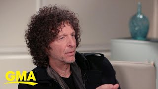 Howard Stern says therapy is what taught him how to 'be a man' l GMA