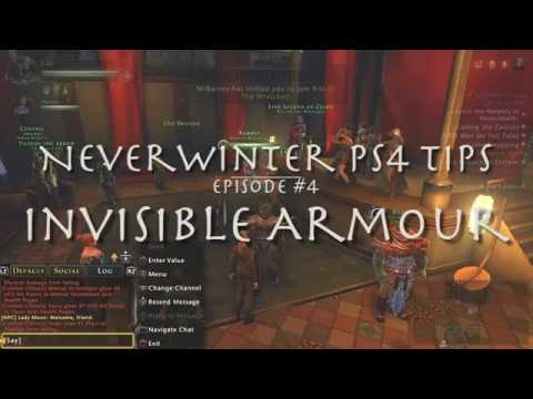 Invisible Armor, NeverWinter PS4