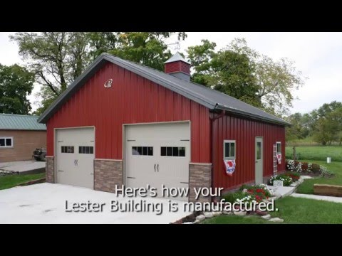 Manufacturing Processes at Lester Buildings