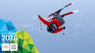 Ski Slopestyle - Birk Ruud (NOR) wins Men's gold | Lillehammer 2016 Youth Olympic Games
