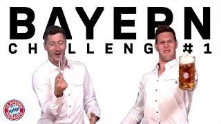 Lewandowski vs. Süle   FC Bayern Oktoberfest Challenge